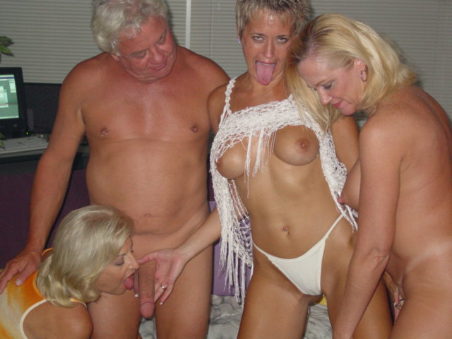 Mature British Group Sex